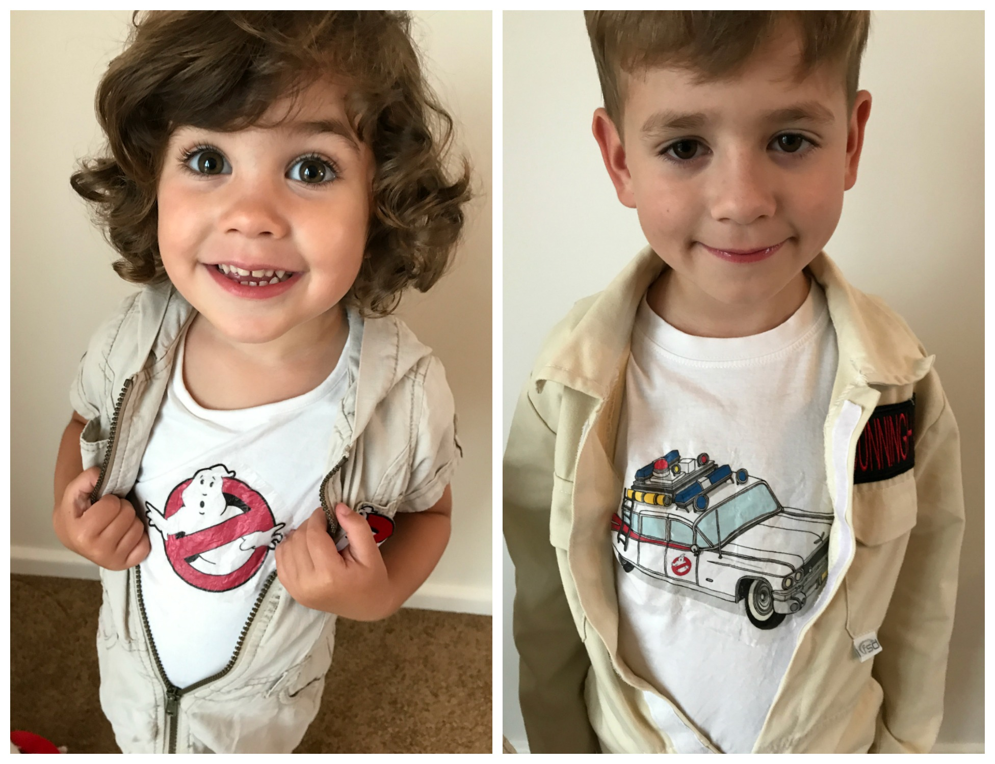f0a59a164 As an extra I also made the kids some personalised Ghostbusters Proton  permits which also doubled up as a goody bag item for all the kids to take  home with ...