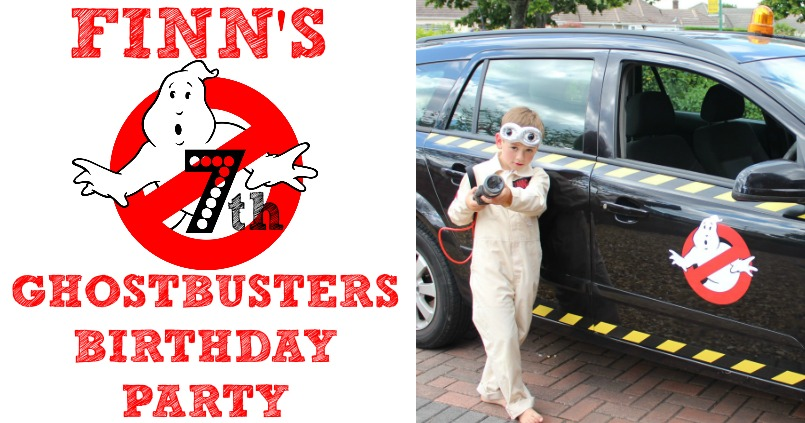 Marvelous Finns 7Th Ghostbusters Birthday Party Decorations Cake The Funny Birthday Cards Online Alyptdamsfinfo