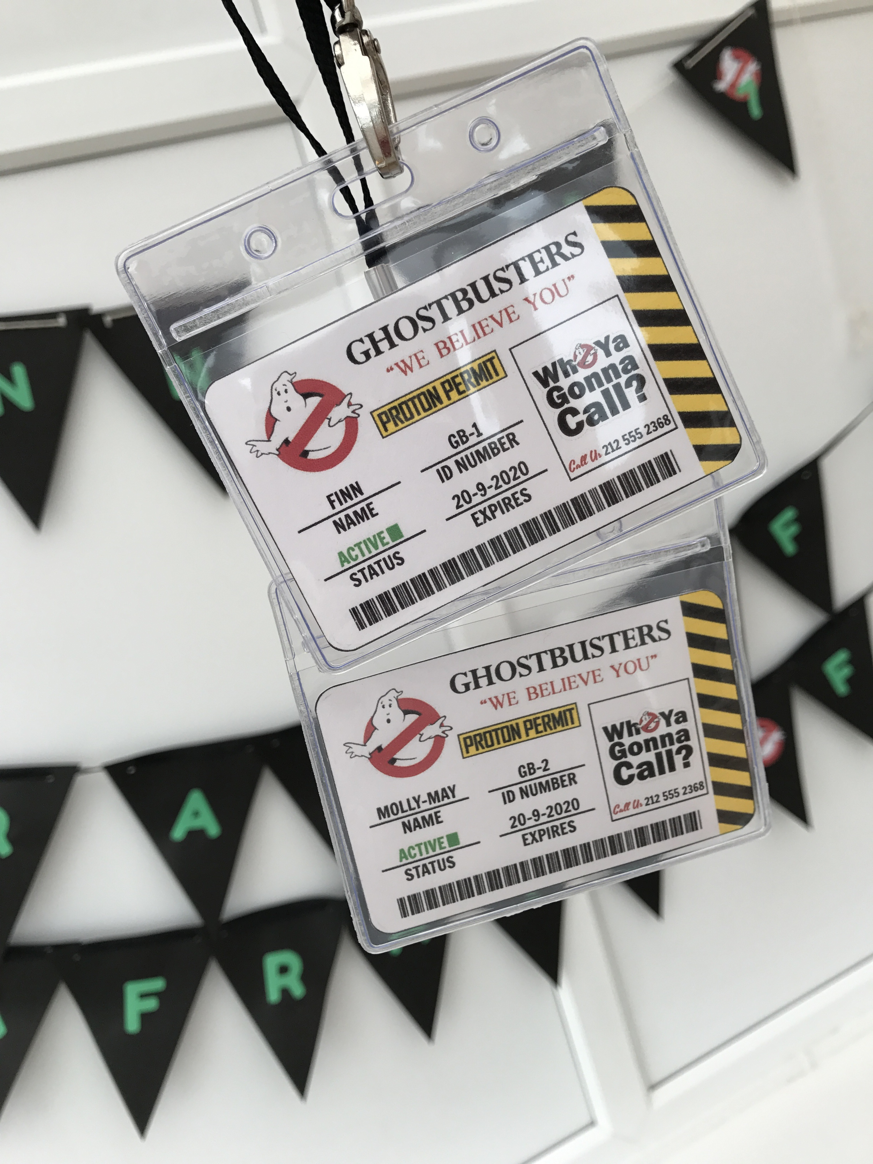 Finn\'s 7th Ghostbusters Birthday Party – Decorations & Cake! – The ...