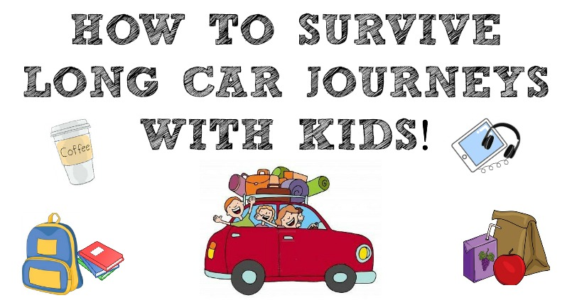 How To Survive Long Car Journeys With Kids The German Wife