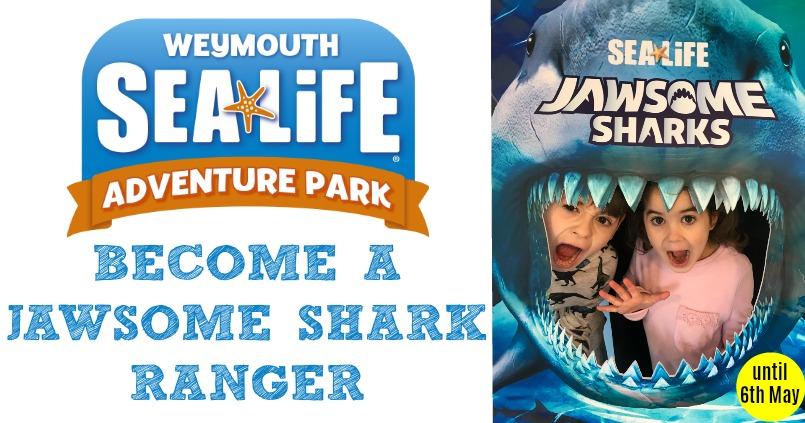 Become A Jawsome Shark Ranger At Weymouth SEA LIFE